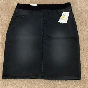 Style & Co Jean skirt